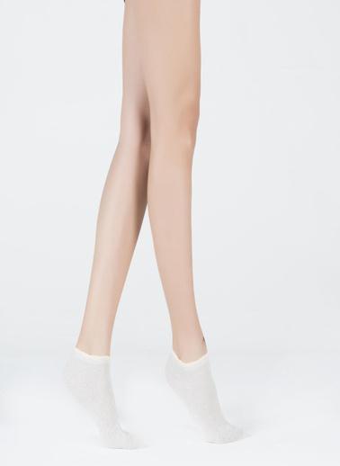 Katia & Bony Shine Kadın Patik Çorap  Bej